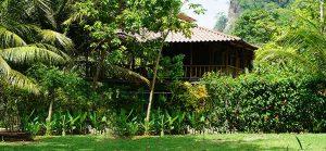 Nipa hut Costa Rica Vacations