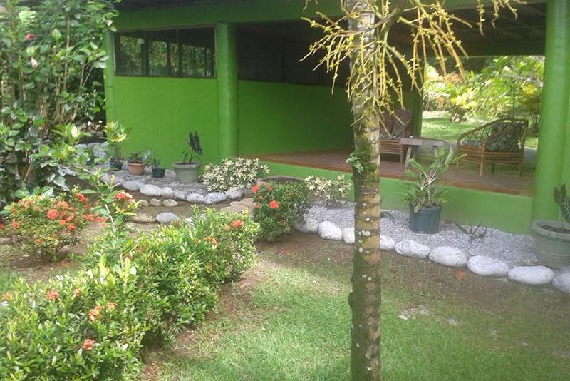 Casa Verde court yard