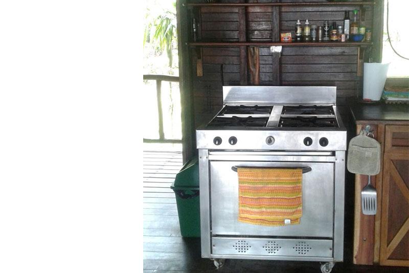 Casa Verde kitchen area